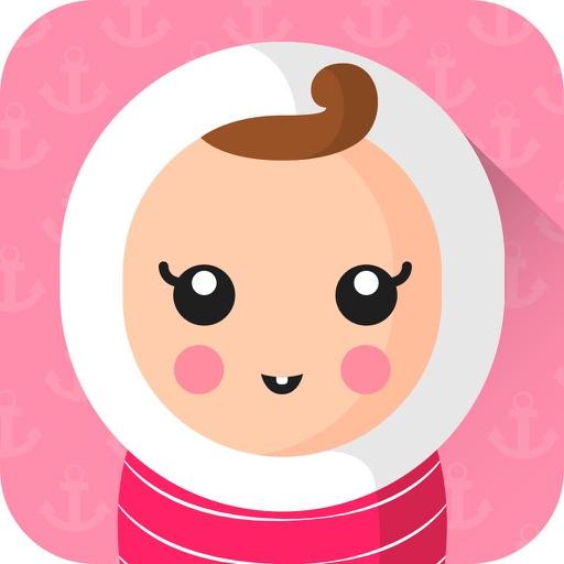 Baby Art- Baby Monthly Pictures & Baby Milestones