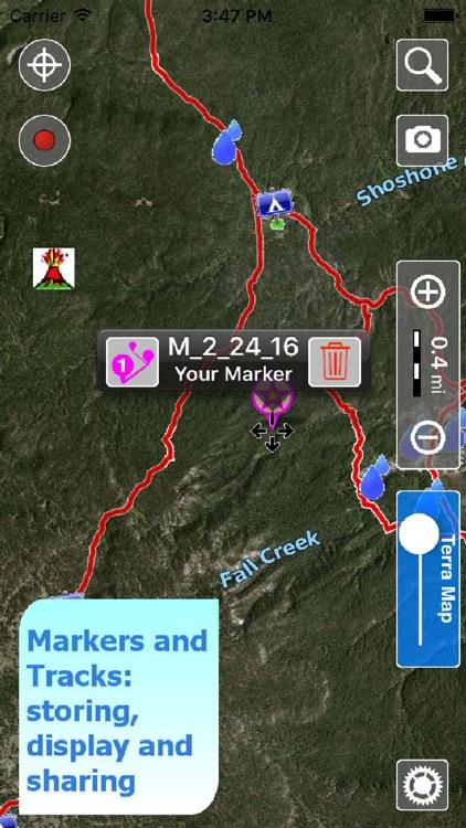 Terra Map - GPS Outdoor trail maps screenshot-3