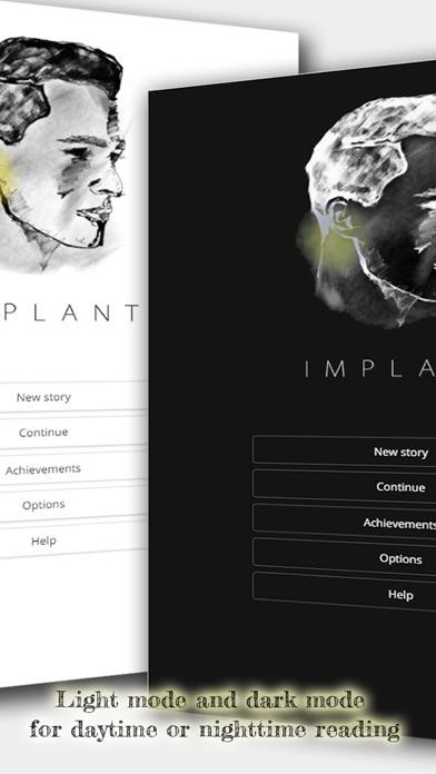 Implant - An Interactive Sci-Fi Novel screenshot four