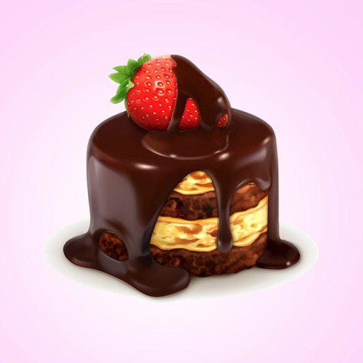 Chocolate Cute Stickers