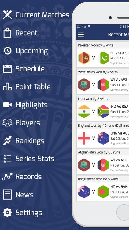 Cricket 2017 -  Live Cricket Scores & News