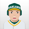 Oakland Baseball Stickers & Emojis