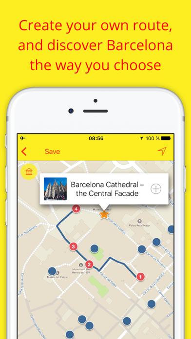 Barcelona - Travel audio guide & offline map Spain Screenshots