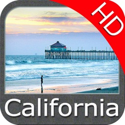 Marine : California HD GPS Map Navigator