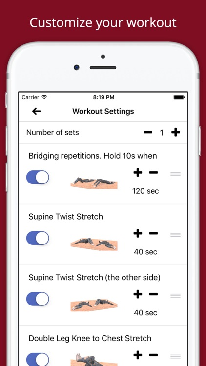 10 Min Lower Back Therapy Workout Challenge screenshot-4