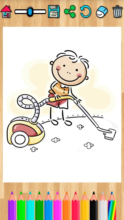 Coloring pages for kids  Painting activity book screenshot-3