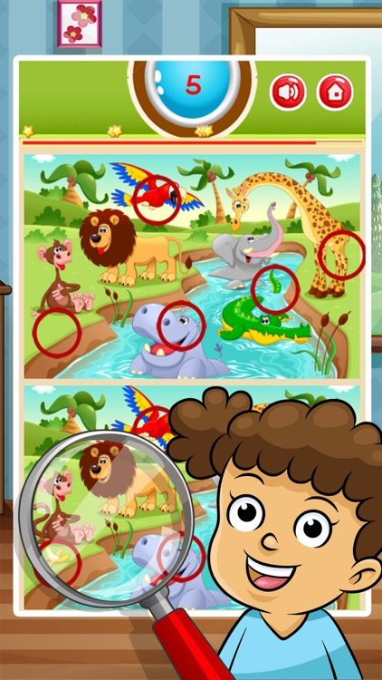 Find the Difference - Image Cute Cartoons screenshot-3