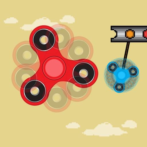 Fidget Spinner - Swing Spin Returns