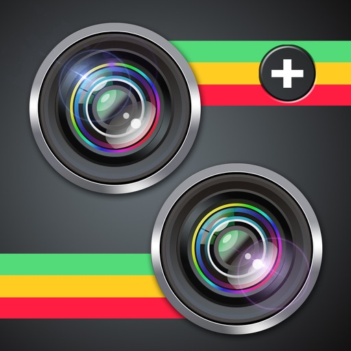 Split Camera -Clone Mirror Pic,Switch Color Photo app logo