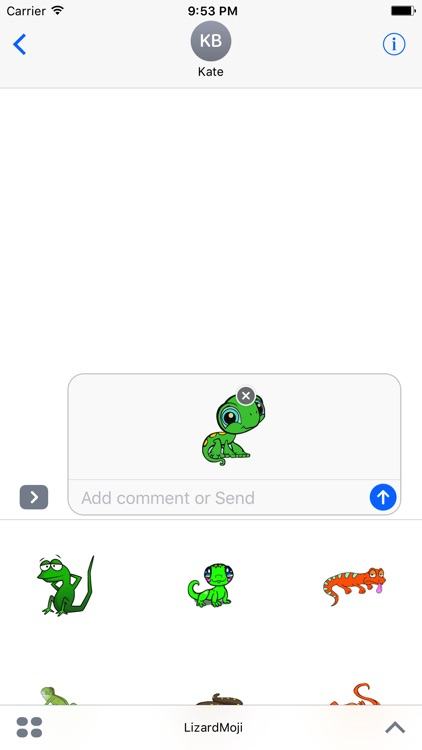 LizardMoji - Lizard Emoji And Stickers Pack