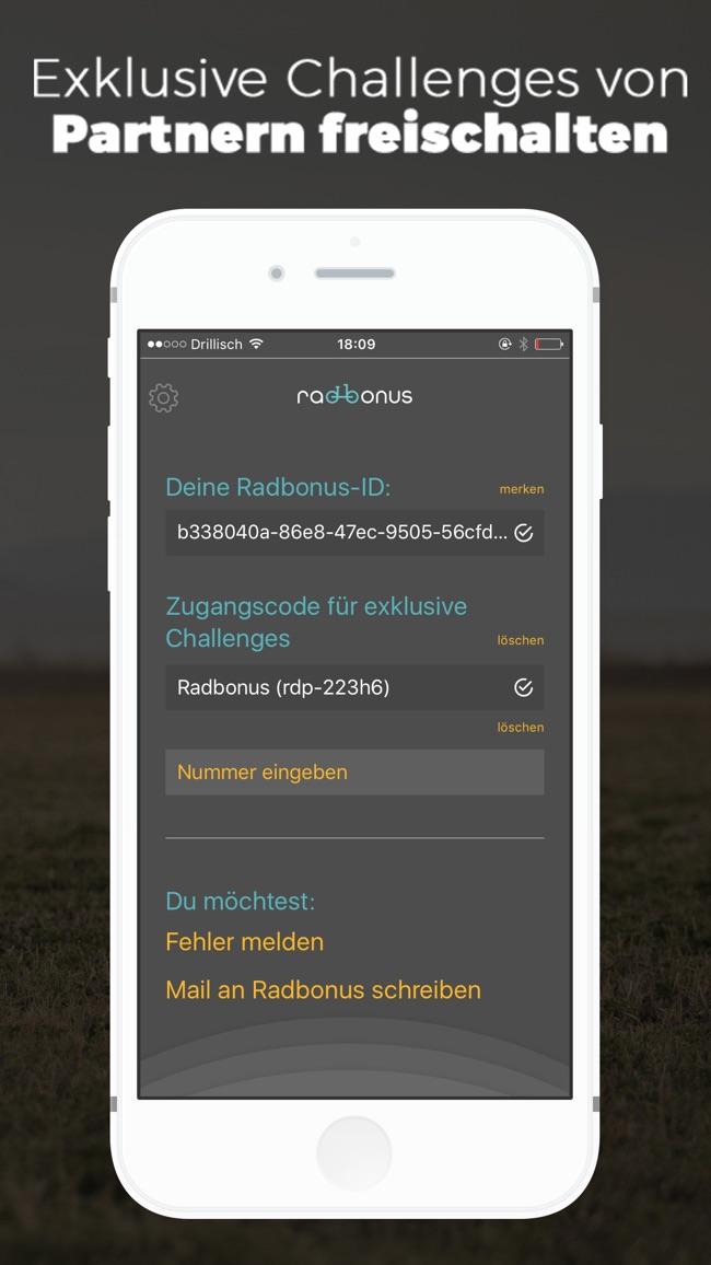 Radbonus Screenshot