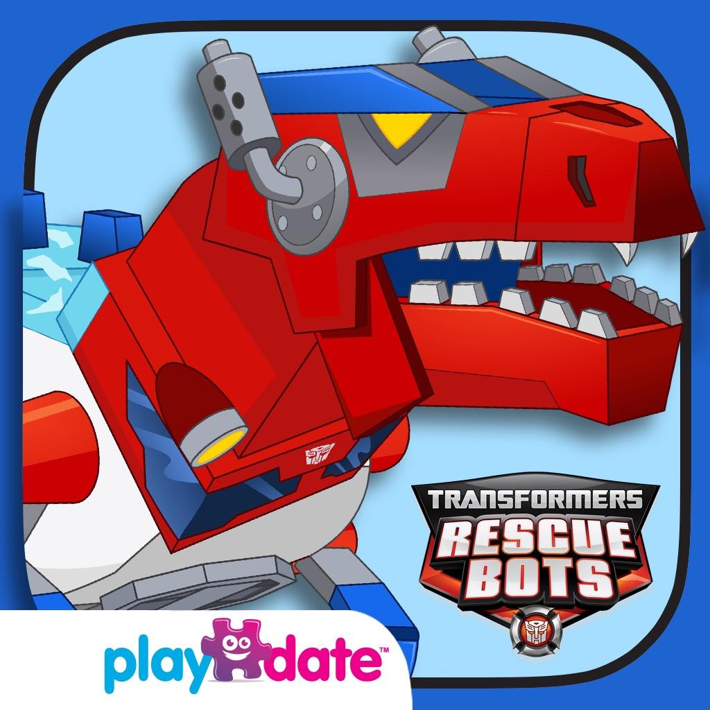 Transformers Rescue Bots: l'Île Dino