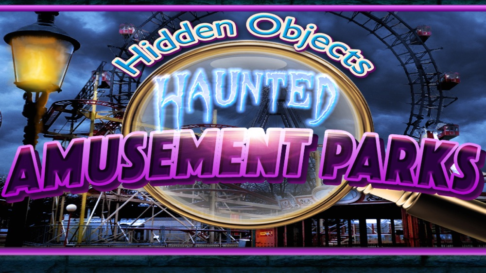 Hidden Objects Haunted Mystery Amusement Parks Pic