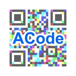 ACodeリーダー(招待状照合用)