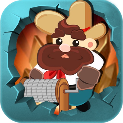 Classic Miner Tom - a Gold Puzzle Game iOS App