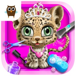 Baby Animal Hair Salon 2 - Jungle Style Makeover