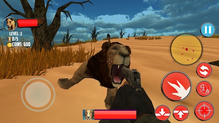 Call of Wild Lions IGI Survival Land Missions screenshot-4