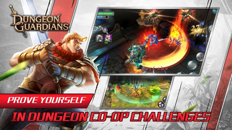 Dungeon Guardians-Hottest Hack & Slash MMORPG screenshot-4