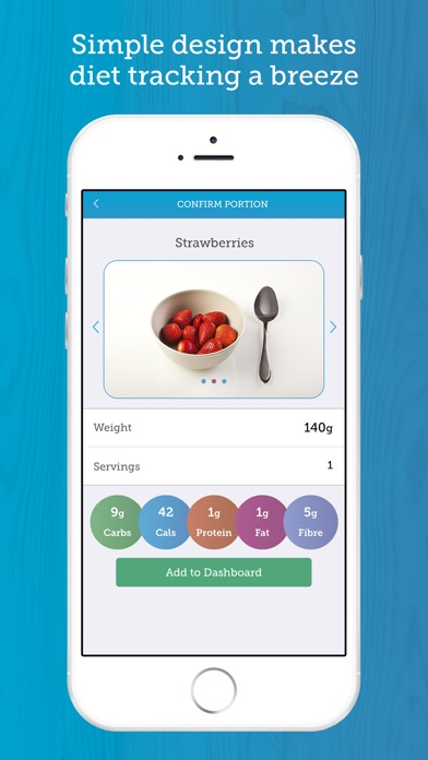Screenshot for Carbs & Cals: Diet & Diabetes in United Kingdom App Store