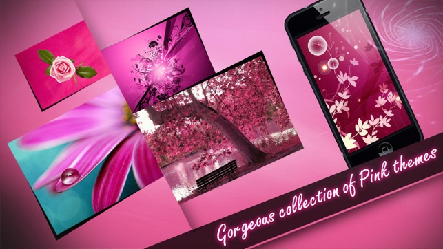 Wallpapers - Pink Edition Screenshot