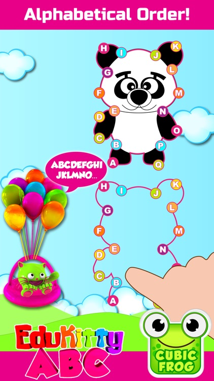 ABC Games for Kids-EduKittyABC screenshot-3