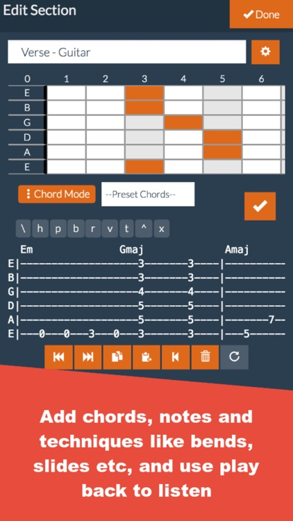 Guitar Notepad - Tab Editor screenshot-2