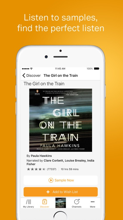 Audible – audio books, original series & podcasts screenshot-4