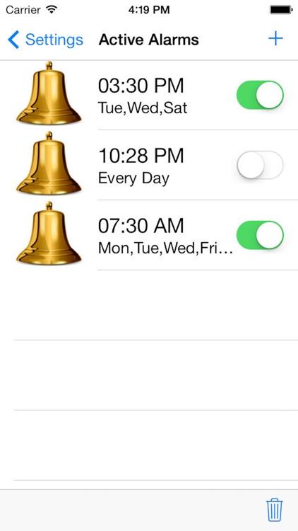 iDigital Big3 Alarm Clock - Largest Display Time screenshot-4