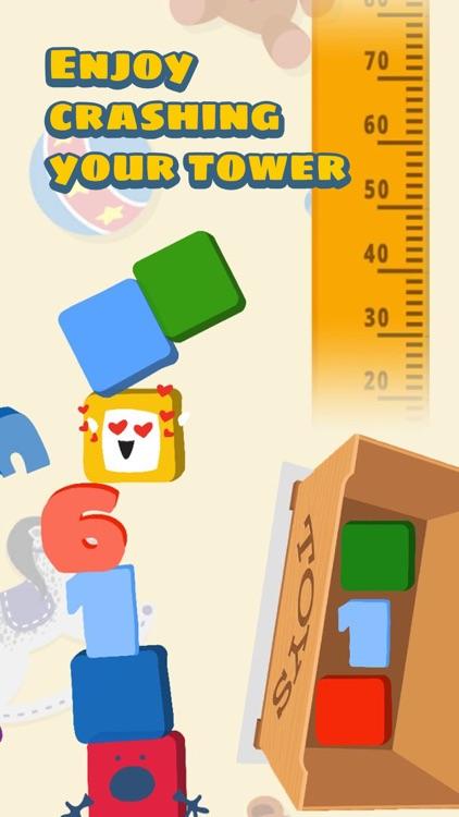 Kids build & crash blocks game