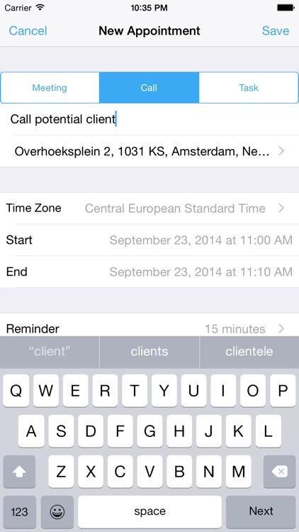 Contactical - Calendar for Vtiger CRM screenshot-3