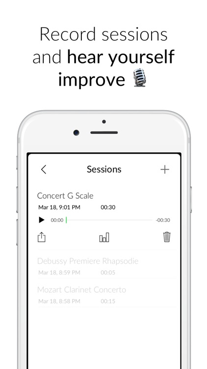 Pitch - Tuner & Musical Fitness Tracker screenshot-2