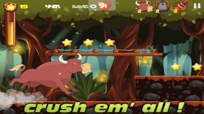 Forest Running screenshot one