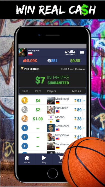 Real Money Basketball Skillz by ePlay Studios LTD