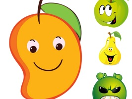 Fruit Stickers and Emojis