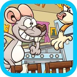 Mouse Vs Cat Run Adventure Maze Games