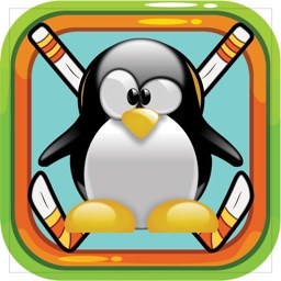 Penguin Fight Glow Ice Hockey Shootout Extreme