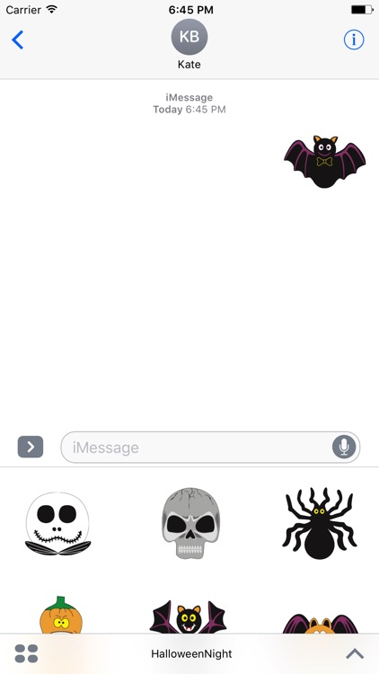 Halloween Night Stickers