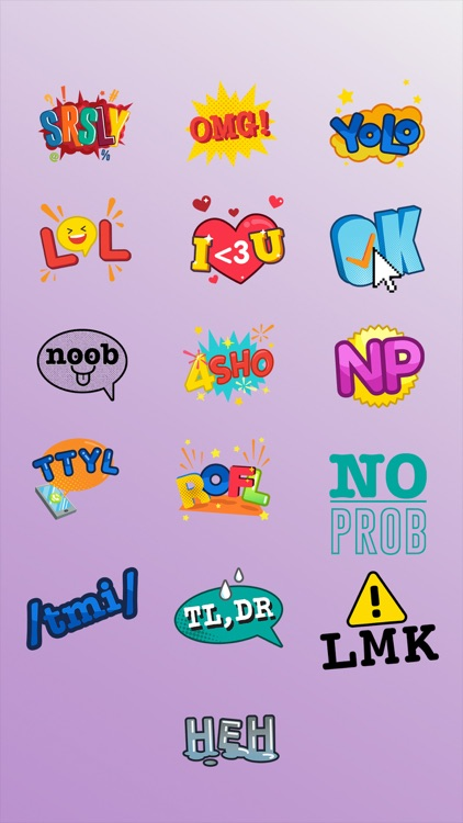 Net Lingo Stickers