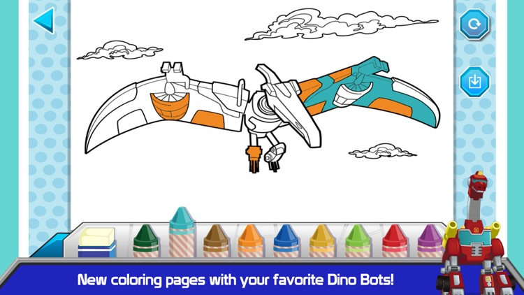 Transformers Rescue Bots: Dino Island screenshot-3