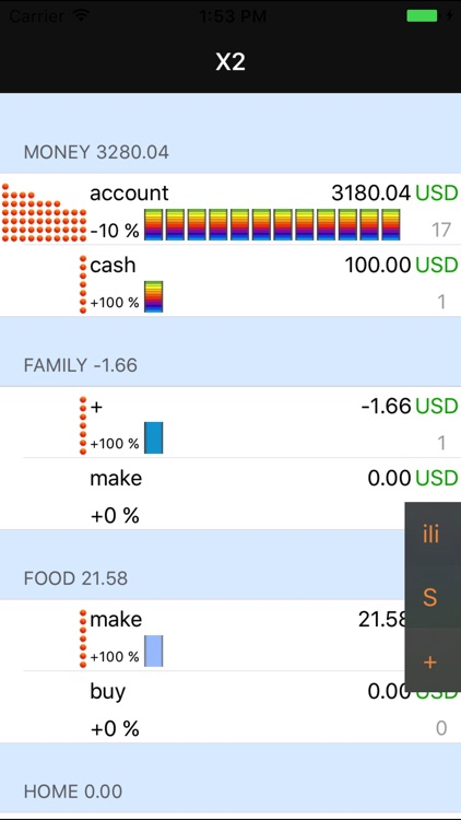 Money X2 - AR Personal & Business Budget Tracker