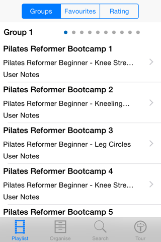 Pilates Reformer Bootcamp - náhled