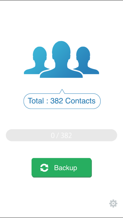 My Contacts Backup Pro app image