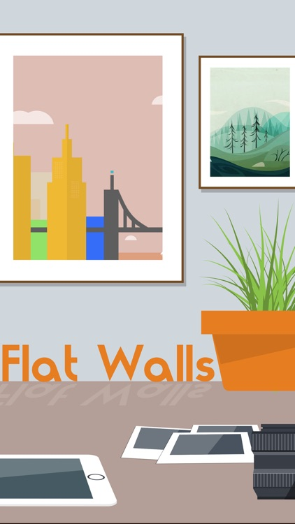 Flat Design Background Gallery