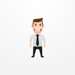 Businessman Emoticons Emojis