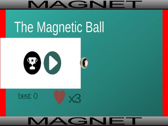 Magnetic Ball - Cool 2D Endless Run Game for Kids-ipad-2