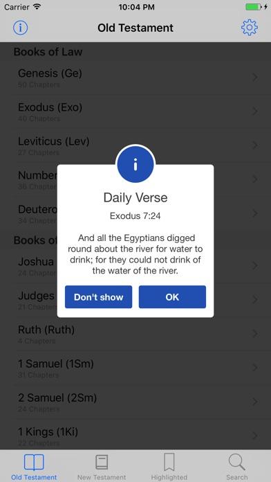 K.J.V. Holy Bible app image