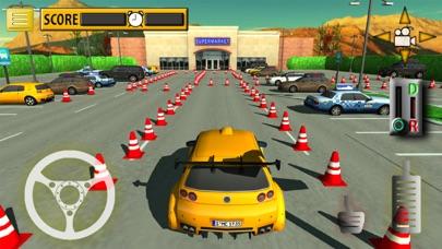 Car Supermarket Parking & Driving Test screenshot one