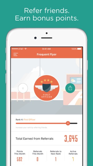 frequent flyer rewards on the app store