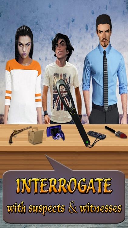 Crime Case Scene : Criminal Detective minds Games screenshot-3