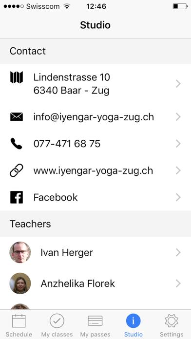 Iyengar Yoga ZugScreenshot von 5